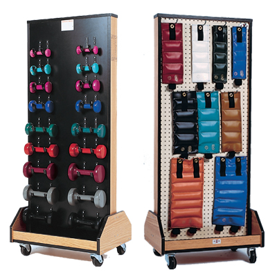 Patterson Medical Rack with Weights and Dumbbells - Model A873505 at Sears.com