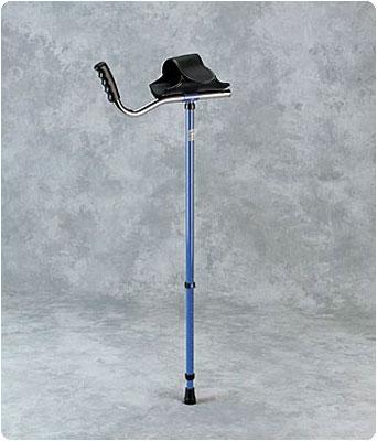 Patterson Medical Walk Easy Adult Platform Crutch Blue - Model 55256201 at Sears.com